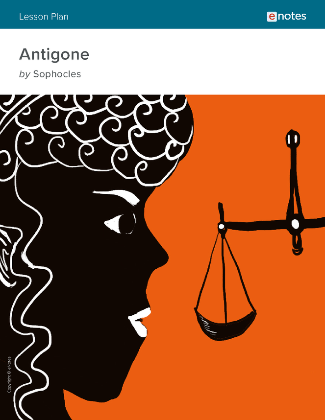 characterization in sophocles play antigone