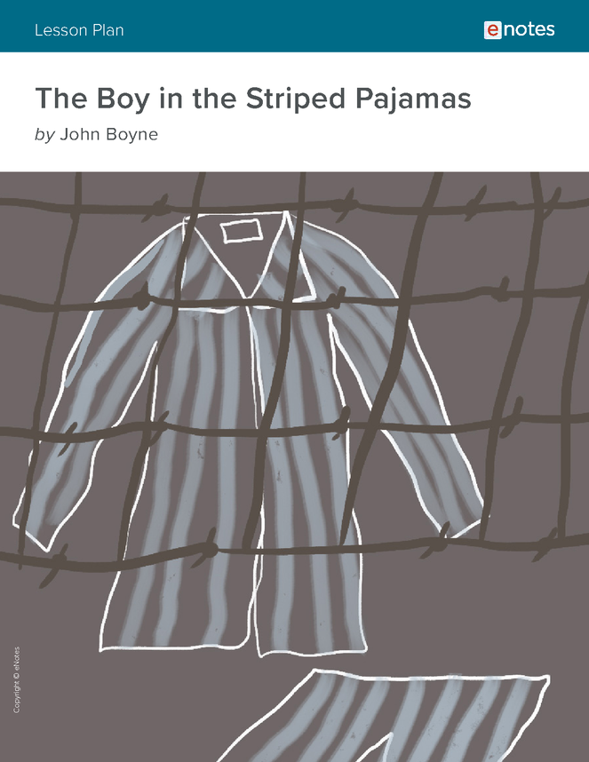 the boy in the striped pajamas lesson plan  the boy in the striped pajamas lesson plan