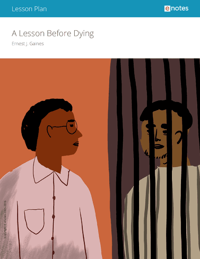 an analysis of the racism in a lesson before dying a novel by ernest j gaines