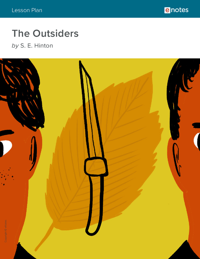 the outsiders enotes lesson plan preview image 1