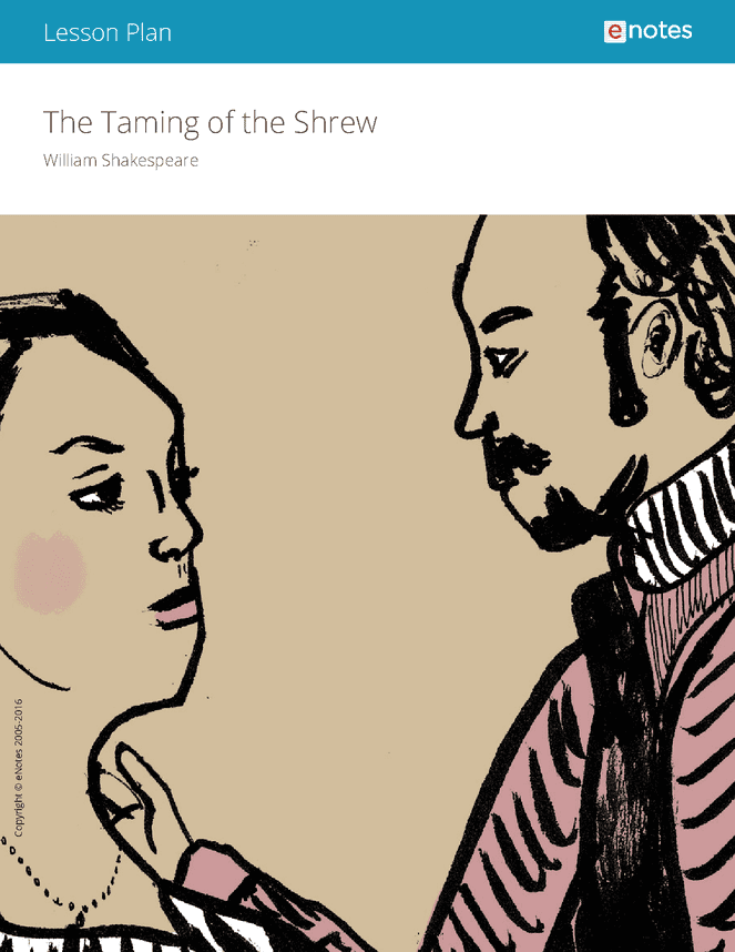 a literary analysis of the play the taming of the shrew by william shakespeare Live the taming of the shrew- william shakespeare – full audiobook - literary analysis bac free audiobooks a suggested video will automatically play next.