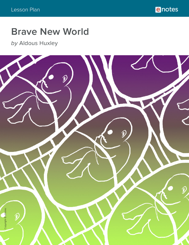 an analysis of the political satire in brave new world by aldous huxley Brave new world, written by aldous huxley is a utopian novel that uses satire to a great extent brave new world takes place in the future, where people are no longer born, and are artificially created.