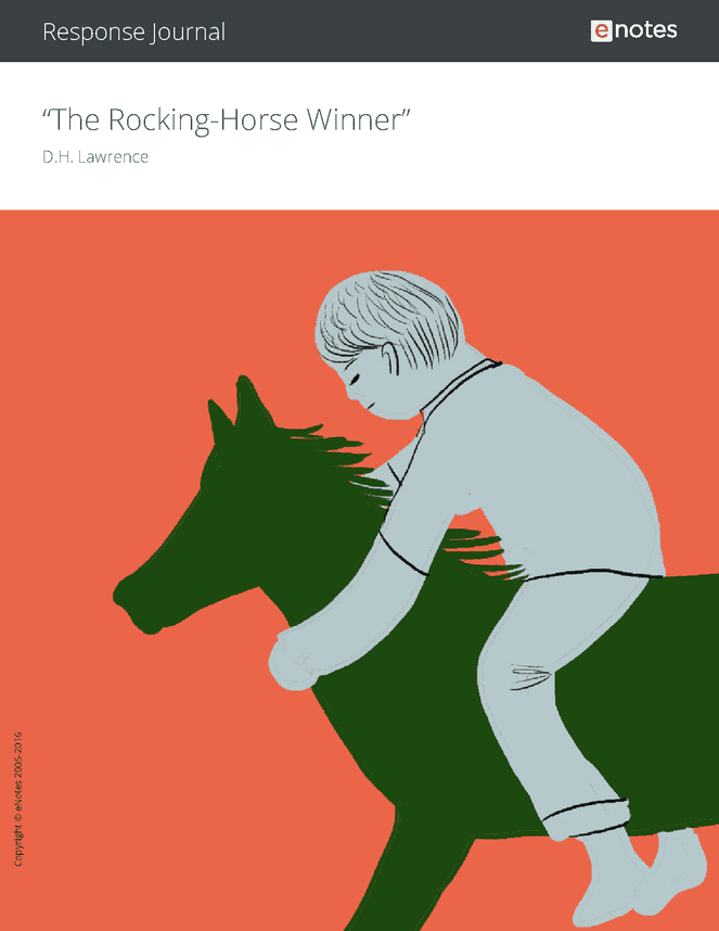 critical essay on the rocking horse winner Literary devices in the rocking-horse winner  a study of a five-year-old boy  who had a fear of horses called analysis of a phobia in a five-year-old boy.