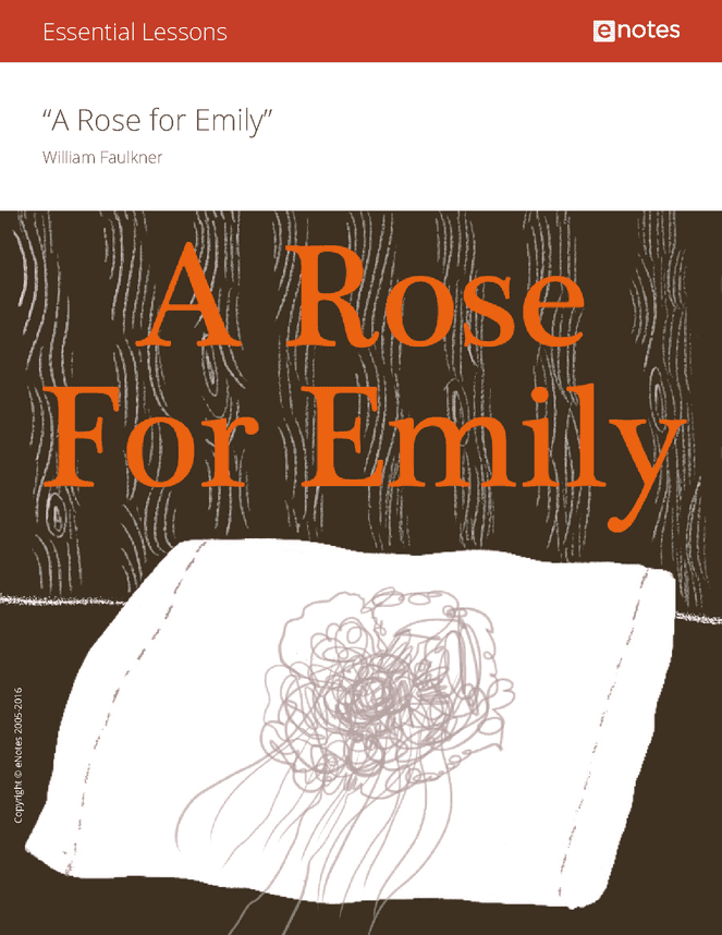 "a rose for emily light A rose for emily the reconstruction after the civil war had a profound and humbling effect on southern society the south""s outdated plantation economy, based so long upon slave labor, was devastated."