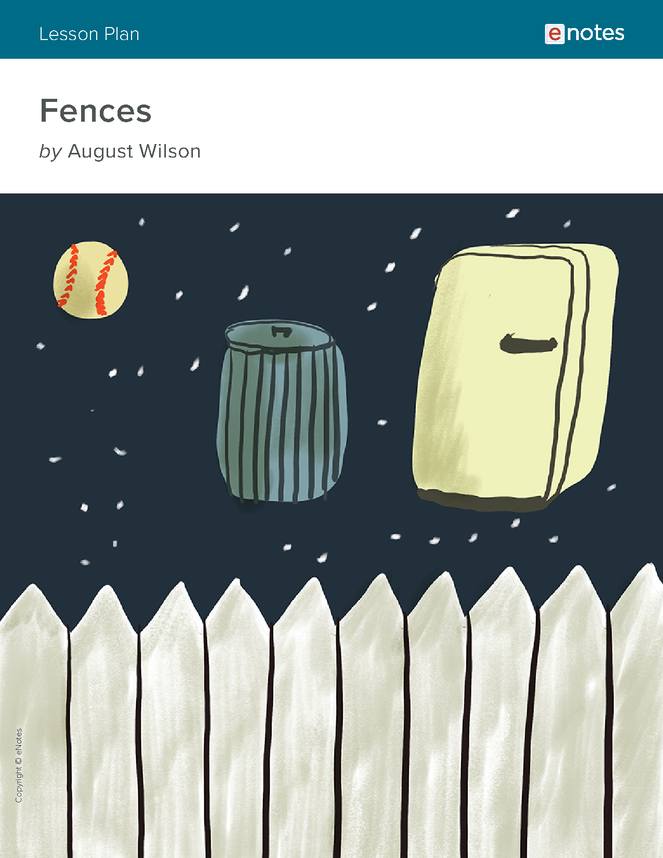 fences lesson plan lesson plans have language  fences lesson plan wilson