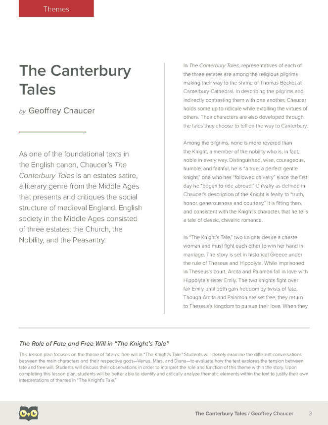 a critique of the canterbury tales by geoffrey chaucer in the theme of religious pilgrimage in the c