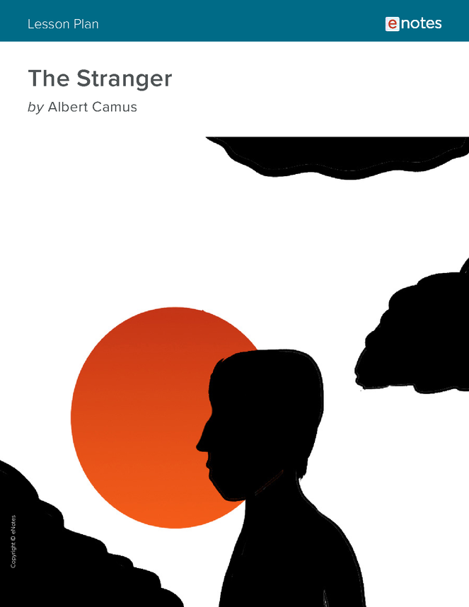the stranger enotes lesson plan preview image 1