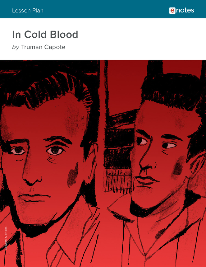 book analysis in cold blood View essay - in cold blood rhetorical analysis from english ap english at naperville central high school andrew zhao period 9 ap lang holcomb essay in the book in cold blood, truman capote.