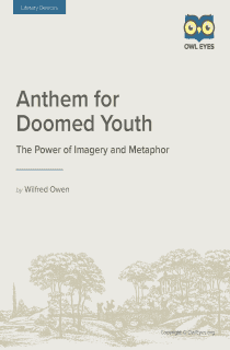 notes for students anthem for doomed youth No 96 in ed 'the complete poems and fragments' mss in the possession of the britten-pears foundation benjamin britten's 1961 oratorio 'war requiem' blended mass for the dead and owen's.