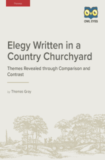 Elegy Written in a Country Churchyard Lesson Plans
