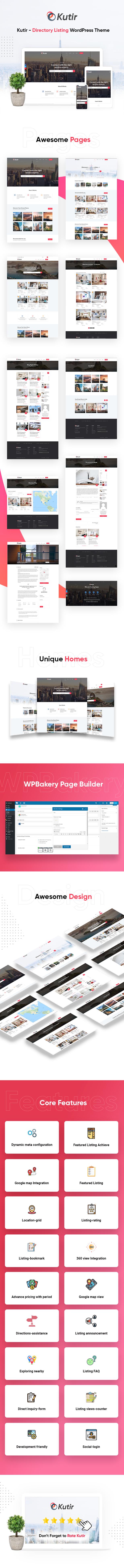 Kutir - Directory Listing WordPress Theme - 1