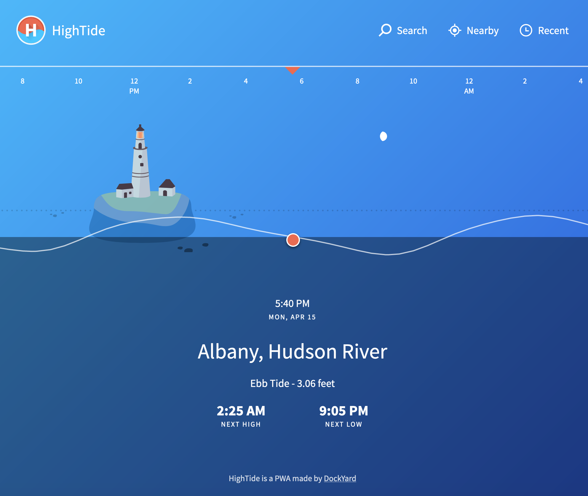 HighTide PWA