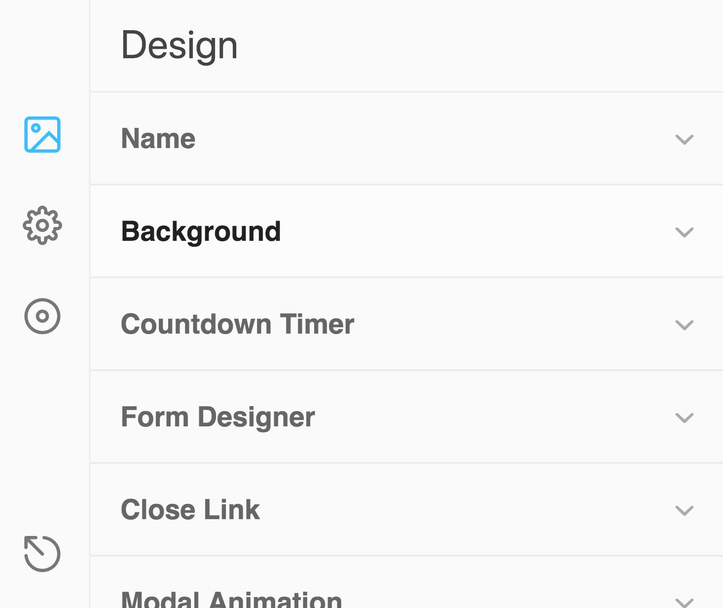 ConvertPlus Modal Design Buttons