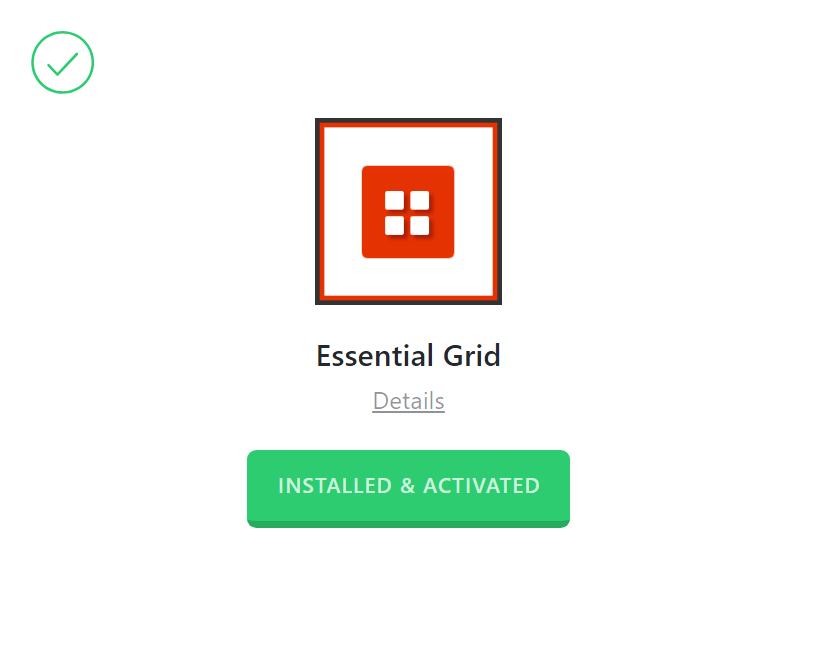 Essential Grid Activated
