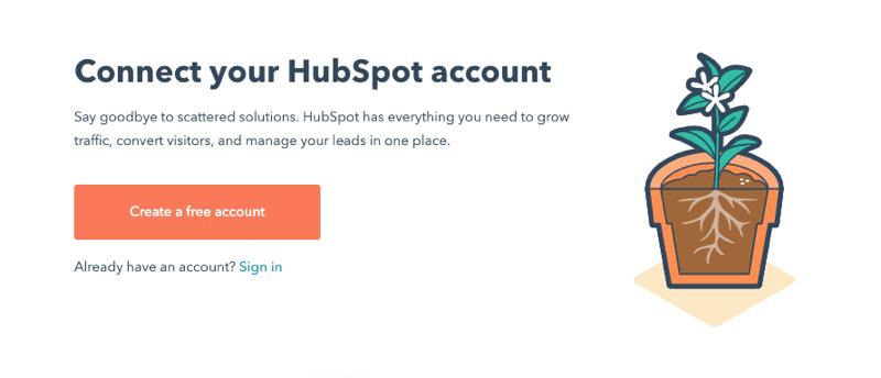 HubSpot Sign in
