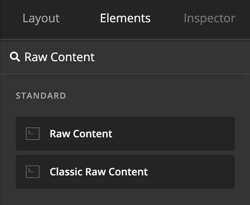 HubSpot Raw Content