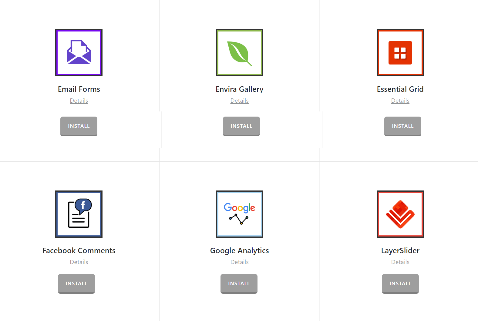 Extensions Overview