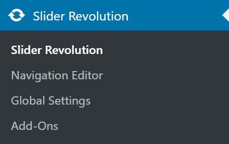 Slider Revolution Tab