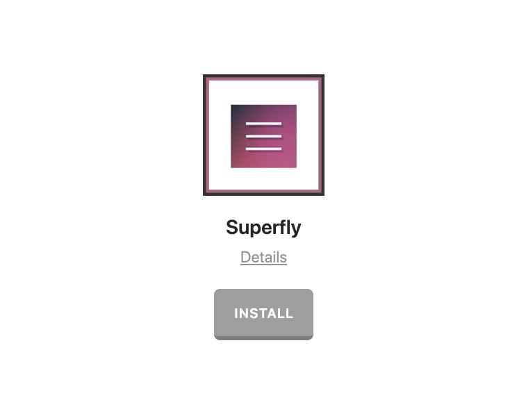 Superfly Install