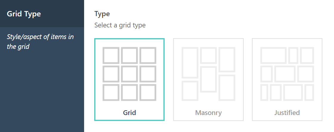 The Grid Grid Type