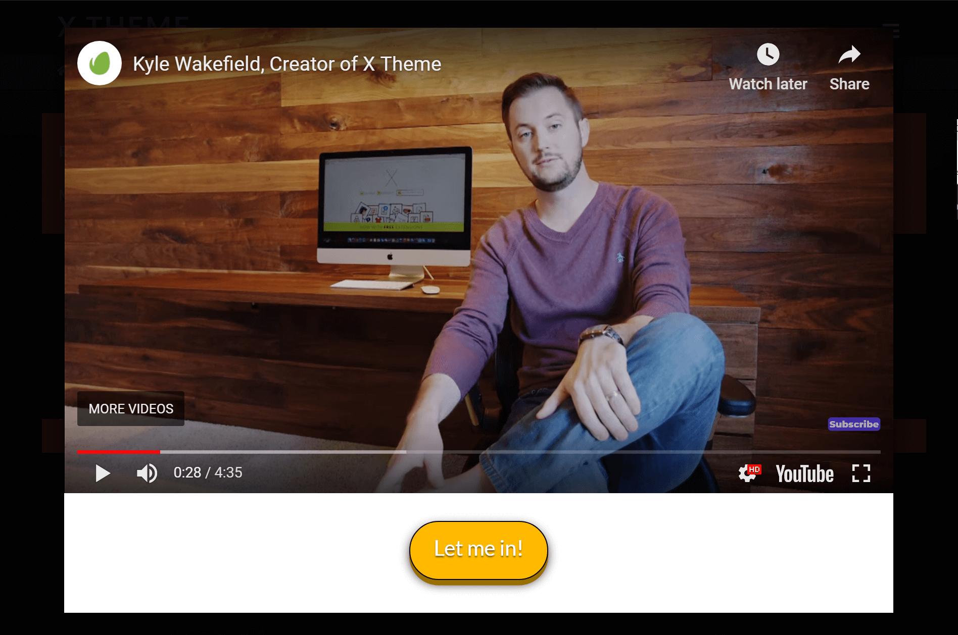 Video Lock Example