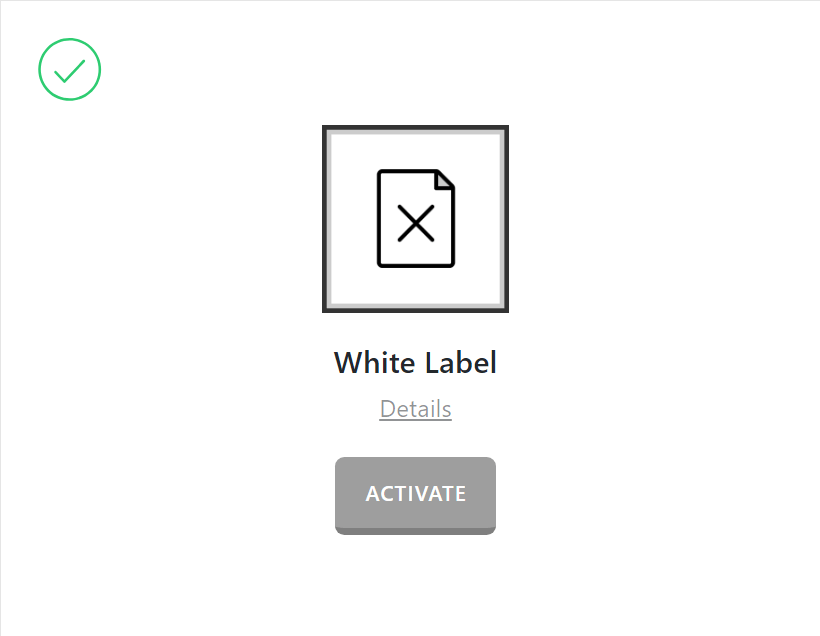 White Label Activate
