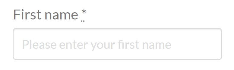 Woo Checkout Editor Label Placeholder