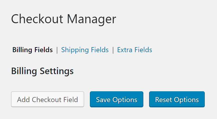 Woo Checkout Editor Checkout Fields