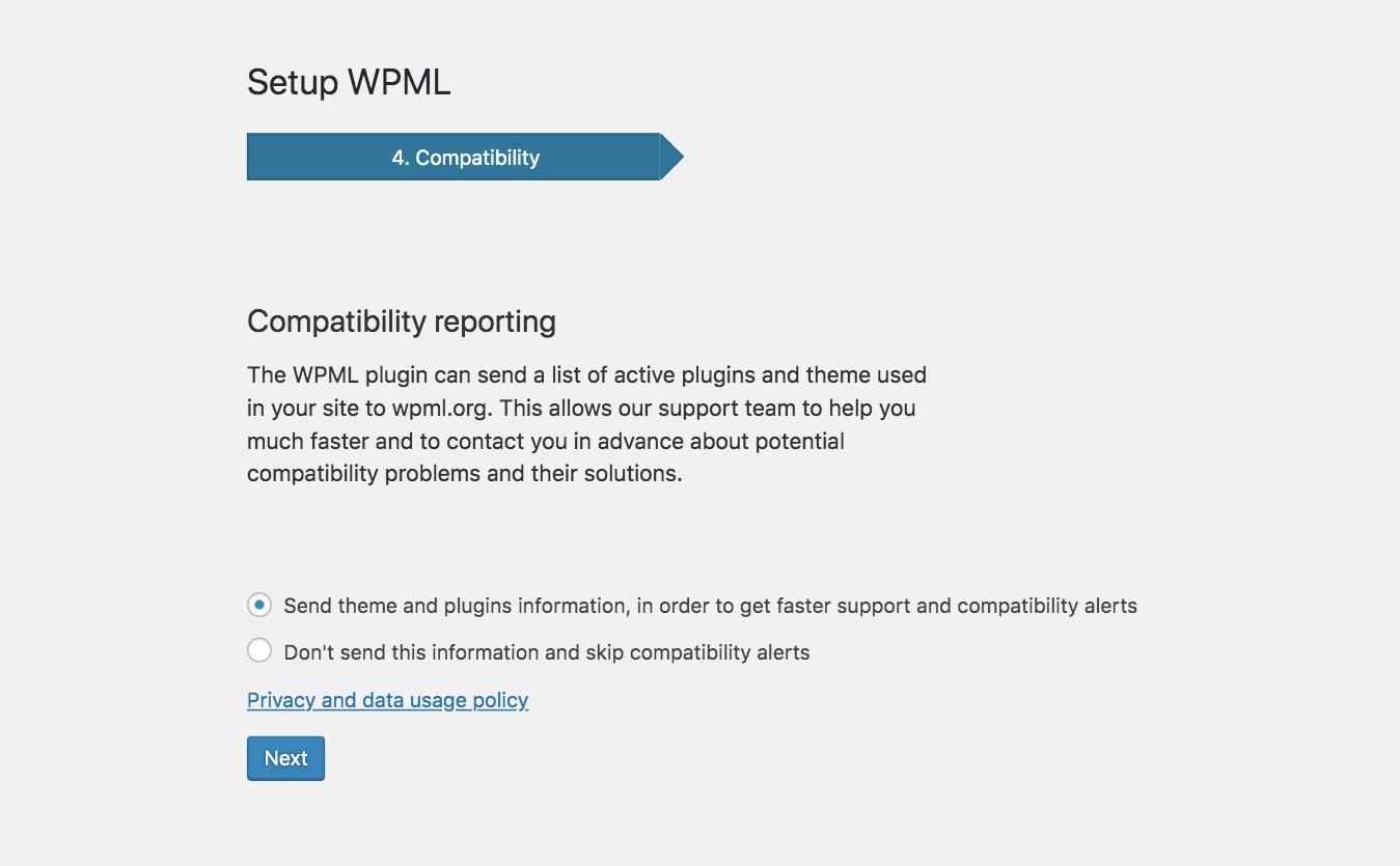 WPML Setup 05