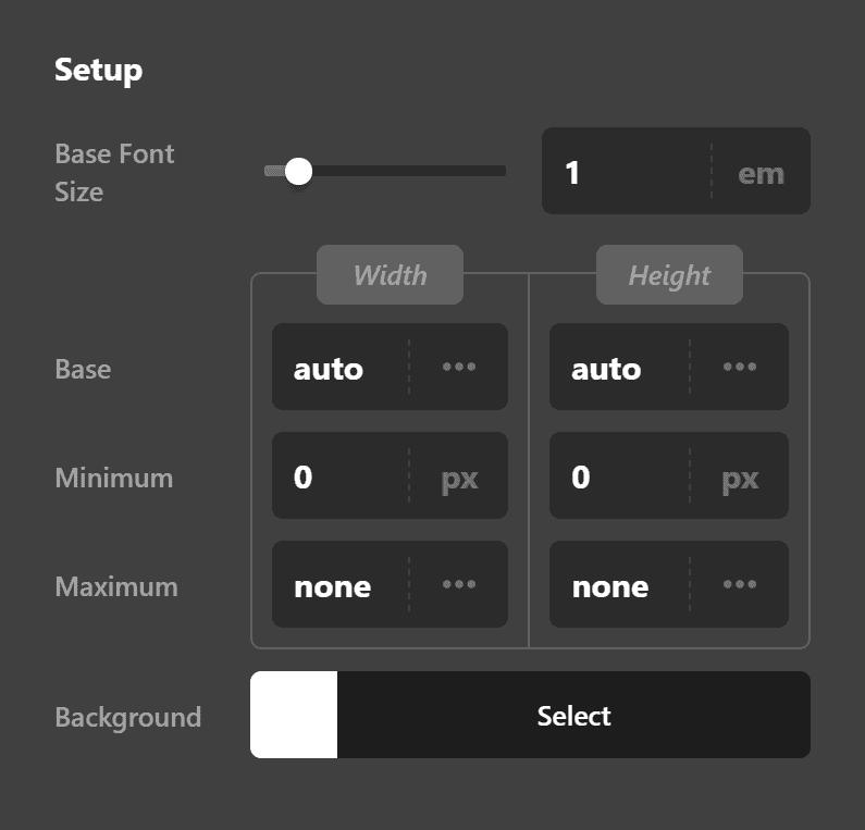 Button Setup