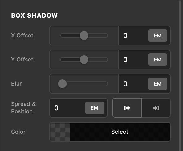 Countdown Box Shadow
