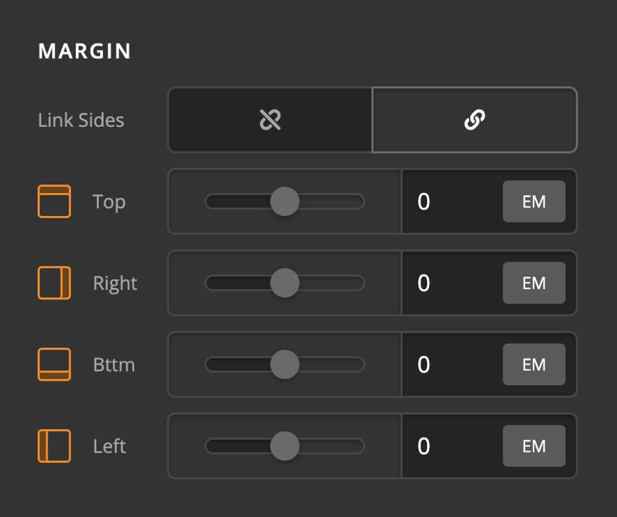 Creative CTA Element Margin