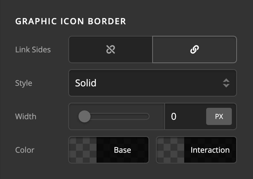 Creative CTA Graphic Icon Border