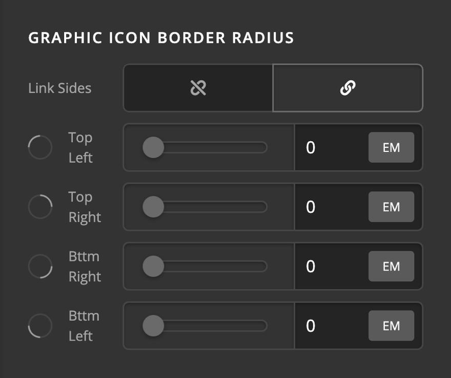 Creative CTA Graphic Icon Border Radius