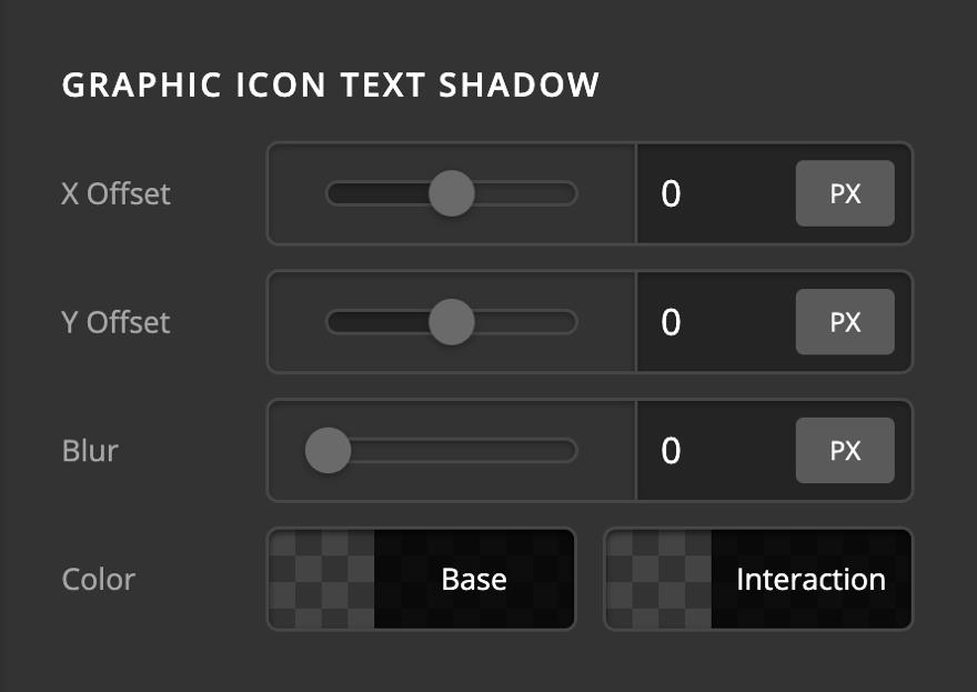 Creative CTA Graphic Icon Text Shadow