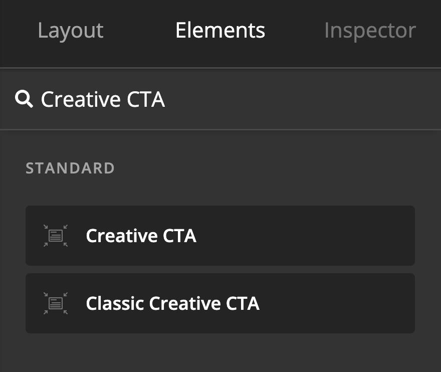 Creative CTA Add