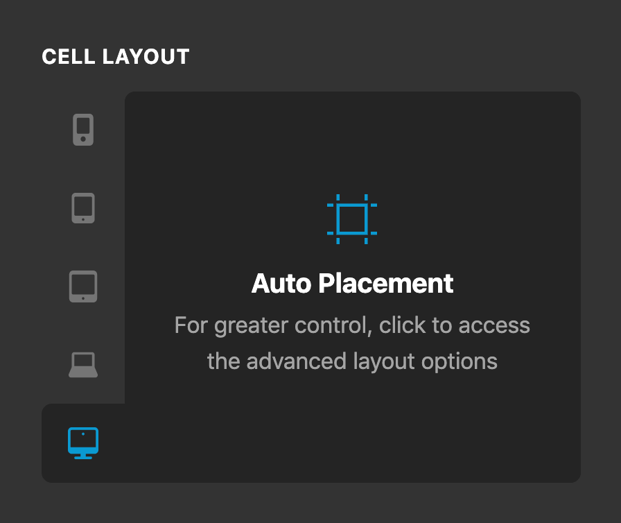 Cell Layout