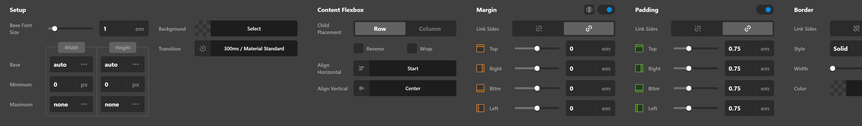 Navigation Inline Sub Links Setup