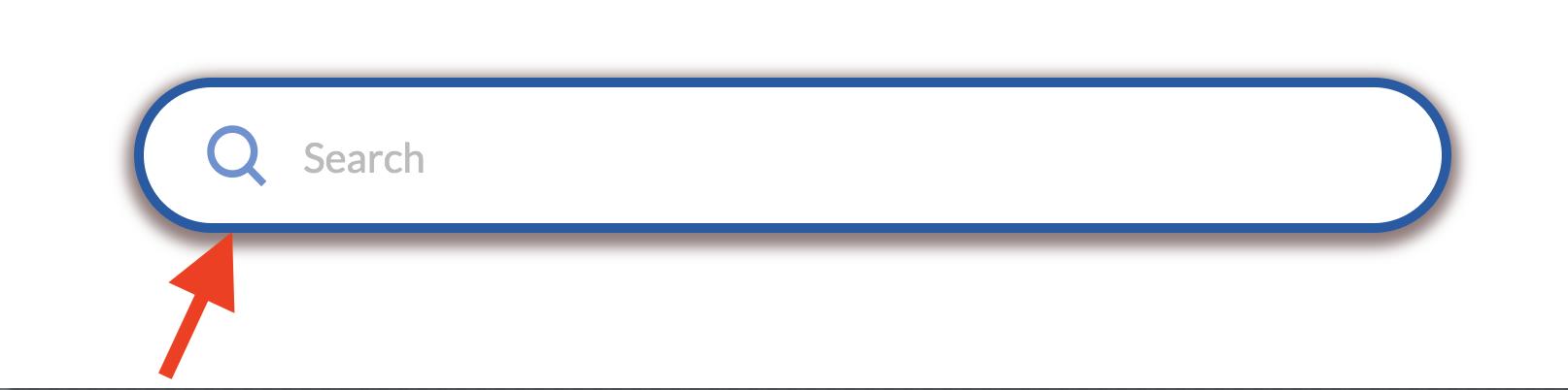 Search Inline Box Shadow