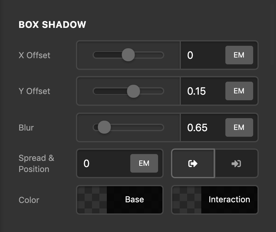 Social Box Shadow