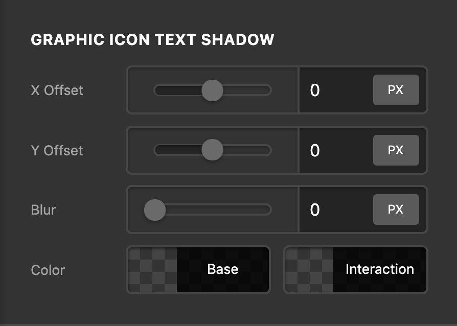 Social Graphic Icon Text Shadow