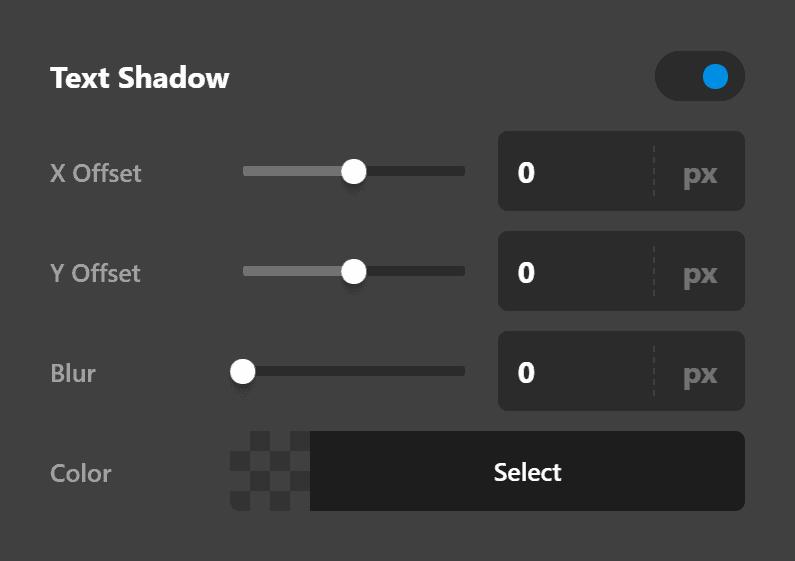 Testimonial Text Shadow