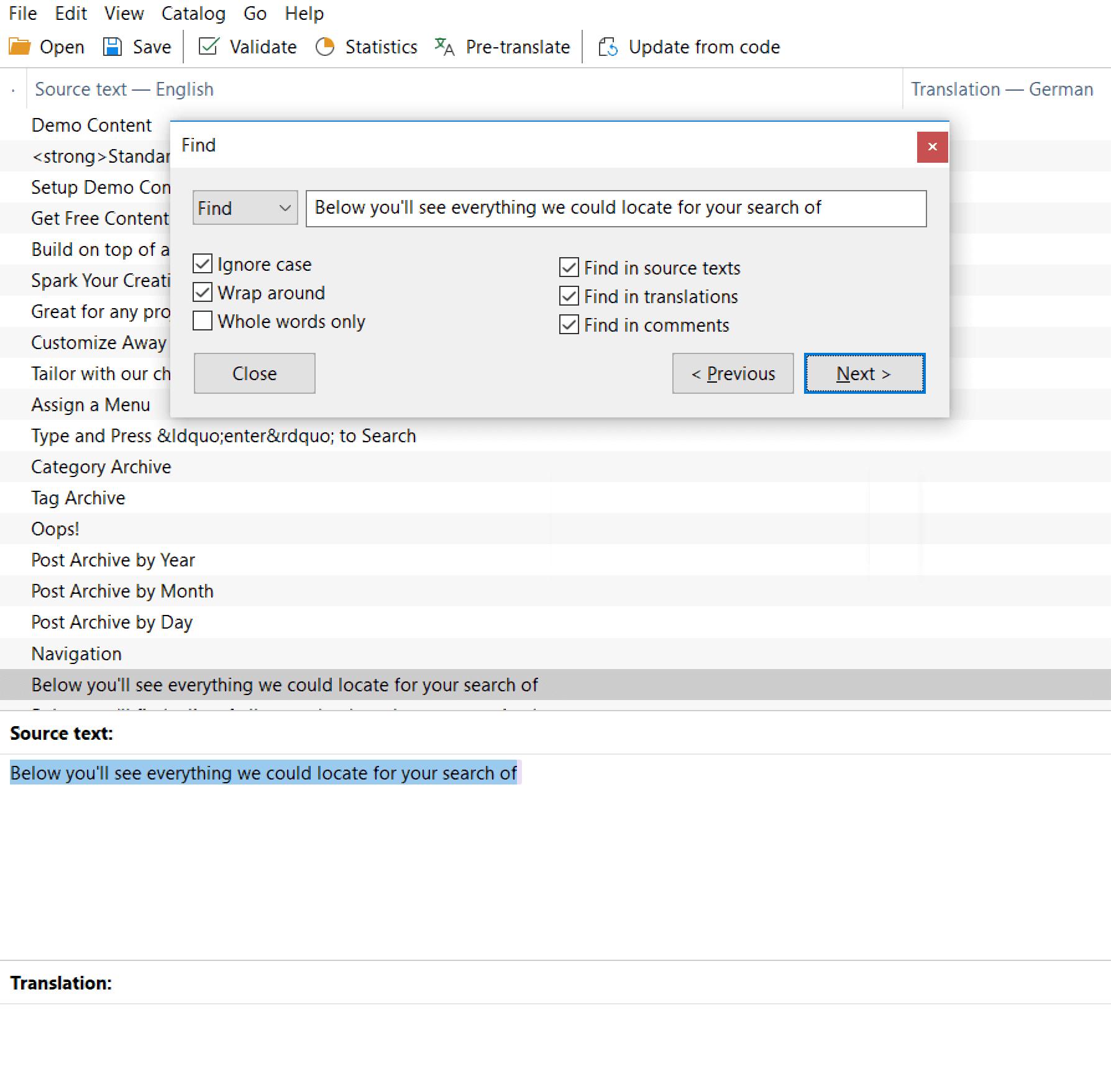 Poedit Source Text