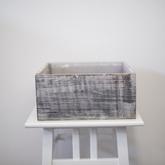 Gray washed box