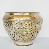 Silver pot