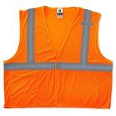 Orange safety vest ansi 2