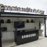 Custom retail pop up in shipping container