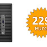 PROMO: HP ProDesk 600 + HP EliteDisplay E231