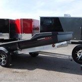 5x8ft manual dump trailer