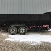 16 x 7 dump trailer